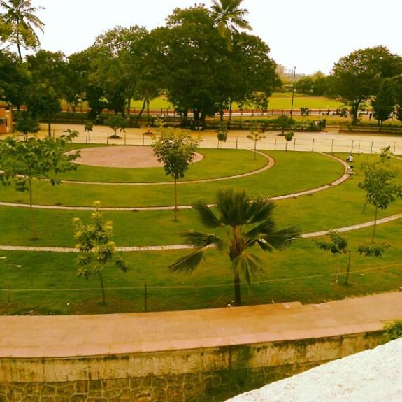 Amphi-theatre of Somaiya College, Mumbai