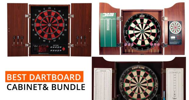 best-dartboard-cabinet-bundle