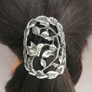 Pewter Pony Tail Covers