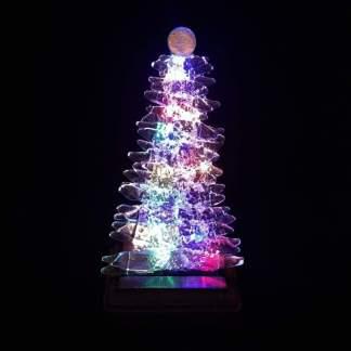 Small Glass Christmas Trees
