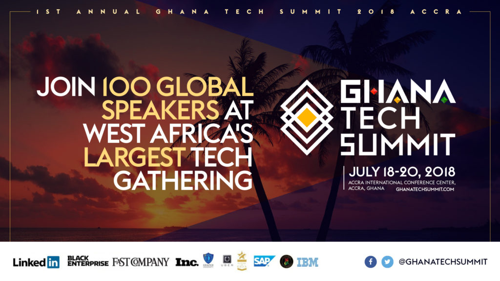 Ghana Tech Summit Announces 1000 Global Attendees and 100