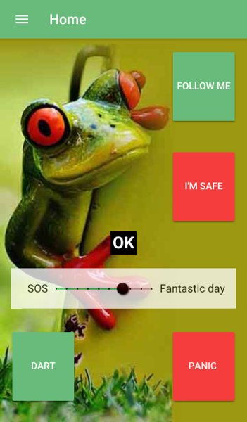 dartFrog Cloud Plus mobile phone screen