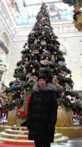 We found a Christmas tree in Детский Мир (children's world)