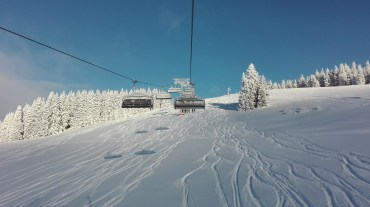 Incredible off-piste after two days of heavy snow