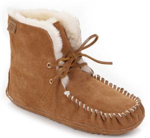 sheepskin ankle boot with laces