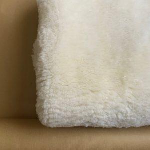 Clipped short sheepskin