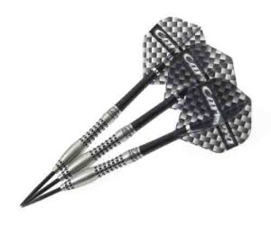 Target Darts Carrera Titanium Black Steel Tip Darts