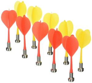 10pcs Replacement Durable Safe Plastic Wing Magnetic Darts