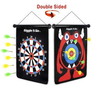 GIGGLE N GO Magnetic Dart Board Game