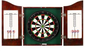 Centerpoint Solid Wood Dartboard Cabinet