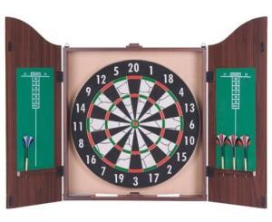 Eddy Toys dart kabinett bristle board