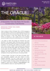 thumbnail of The Oracle November 2019