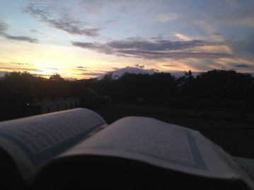 suasana campus Darul Fithrah Menjelang Senja