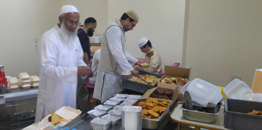 Feeding the elderly and vulnerable in the community