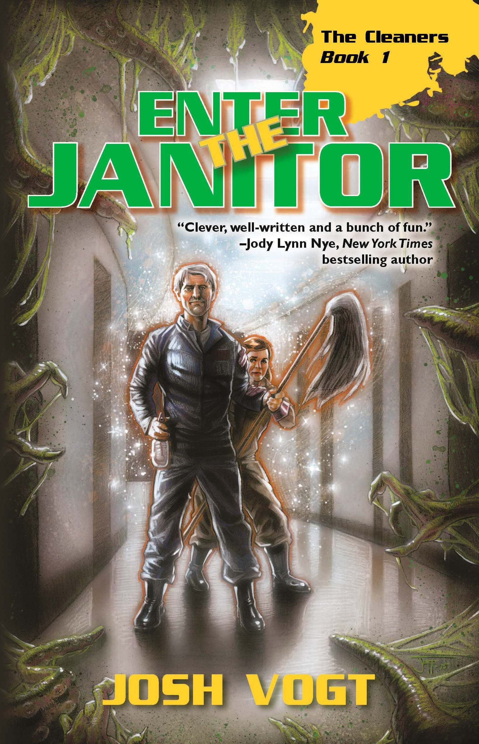 Interview with Josh Vogt, author of Enter the Janitor