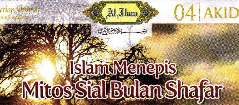 Islam Menepis Mitos Sial Bulan Shafar Darus Salaf Kajian
