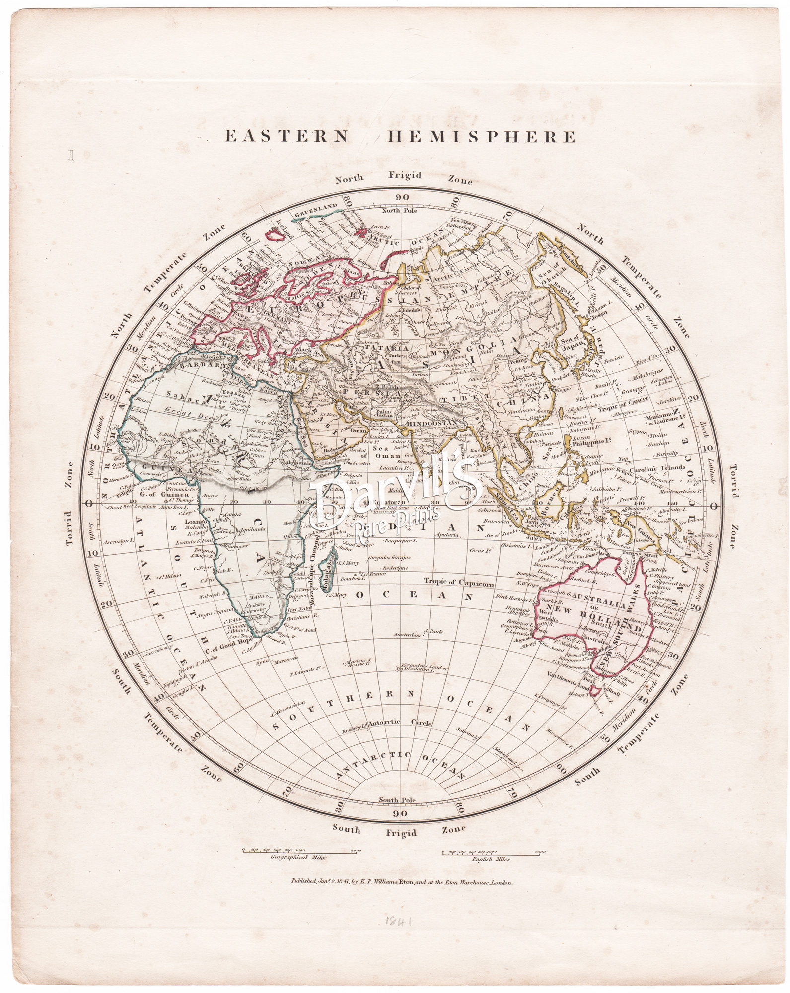 Antique Maps Of The World Continents Hemispheres And
