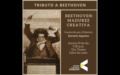Virtual Presentation about Beethoven's Symphony No. 9  (In Spanish)