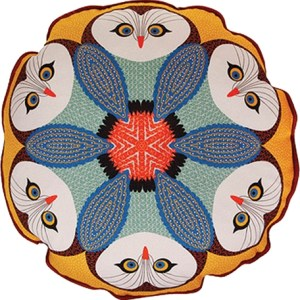 4- Orwell and Goode Owl Piped Cushion
