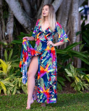 Empress Wrapsody Dress in Paradise