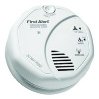 First Alert ZCombo Z-Wave Smoke and Carbon Monoxide Detector