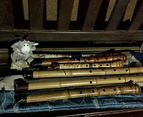 Shakuhachi collection