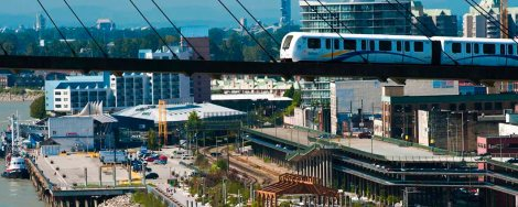 Featured image: The SkyBridge, with the New Westminster Waterfront in the background. From the