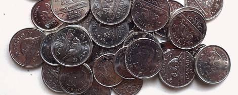 Nickels for everybody! Yaaayy!