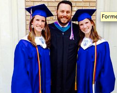 Emily and Caitlyn Copeland were co-valedictorians when they graduated from high school.