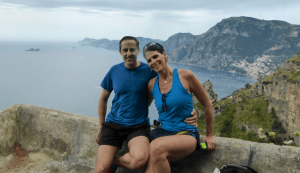 We applied those 76,000 miles toward a romantic trip to Rome, Pompeii, and the Amalfi Coast.