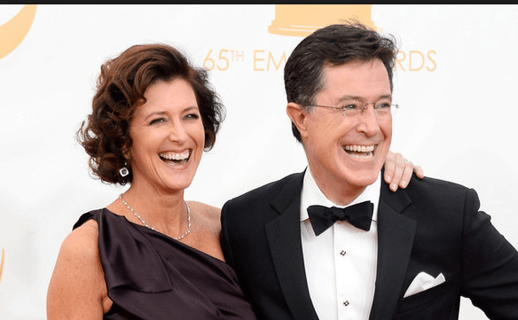 The Incredibly Romantic Story Of How Comedian Stephen Colbert Met His Wife