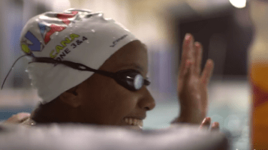 Olympic-bound swimmer, Ammara PInto, is swimming through her grief, and representing her country of Malawi.