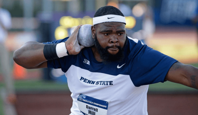 Penn State's Darrell Hill will compete for the USA in shot put at the Rio Olympics. Thanks to an Uber passenger, his dad, Ellis Hill, will get to go and see him compete.