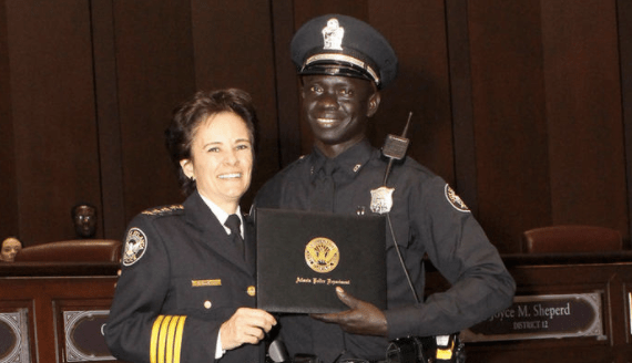 Lost Boy Of Sudan Refugee Becomes Atlanta Police Officer