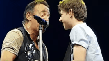 Teenager Nathan Testa learned playing hooky from school is a great idea. Bruce Springsteen called him up on stage during a recent concert in Brisbane, Australia and the teen stole the show.