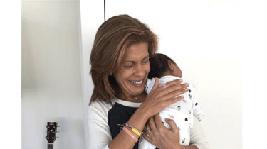 Today Show anchor Hoda Kotb becomes a mom for the first time announcing that she has adopted a baby girl, Haley Joy Kotb.