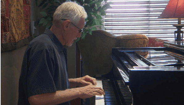 Professor's Special Talent Helps Man With Alzheimer's Capture Beautiful Music Before It Disappears Forever