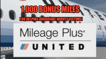 Earn 1,000 bonus Mileage Plus miles from United Airlines when you donate at least $50 to one of their four charitable partners.