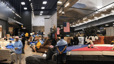 Mattress Mack, Jim McIngvale, opens his two stores as shelters for those who are homeless after Hurricane Harvey.