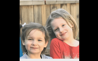 Two little girls in foster care inspire a wave of love and kindness.