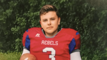 High school football player Danny Lilya found one incredible way to score two tickets to Super Bowl LII.