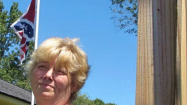 Annie Caddell changed her mind and has decided to take down a Confederate flag that has been flying in front of her house for the last seven years in Summerville, SC.