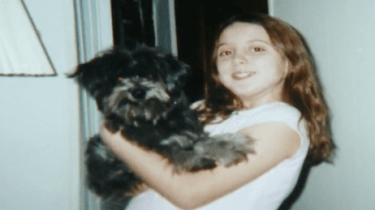 Nicole Grimes was forced to give up her beloved dog, Chloe, when she was a girl. Recently, she decided to adopt a senior dog only to come to discover she had been reunited with same dog 10 years later.