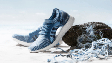 Adidas has sold one million pair of shoes made using ocean trash.