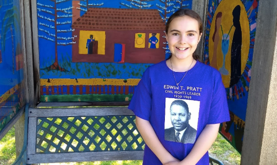 10-Year-Old Girl Shows How To Honor Forgotten Civil Rights Hero Edwin Pratt