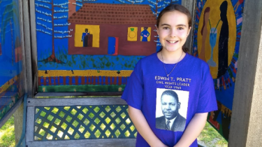 10-year-old Sarah Haycox goes on a campaign to remember and honor forgotten civil rights leader Edwin Pratt.