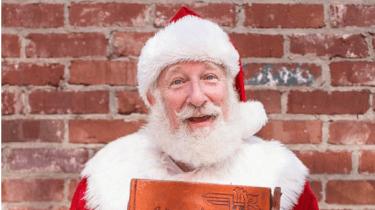 Rick Rosenthal is Jewish and loves playing Santa.