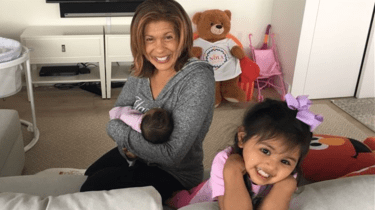 TODAY Show anchor Hoda Kotb adopts her second daughter, Hope Catherine Kotb.