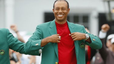 Dad Tiger Woods has big plans where he wants to wear his latest Masters Green Jacket.