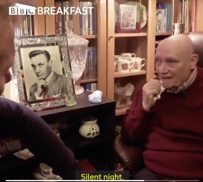 BBC Breakfast presenter Dan Walker asks Terrence what is his favorite Christmas carol?
